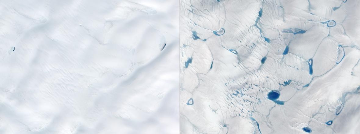 Důkazy klimatické změny