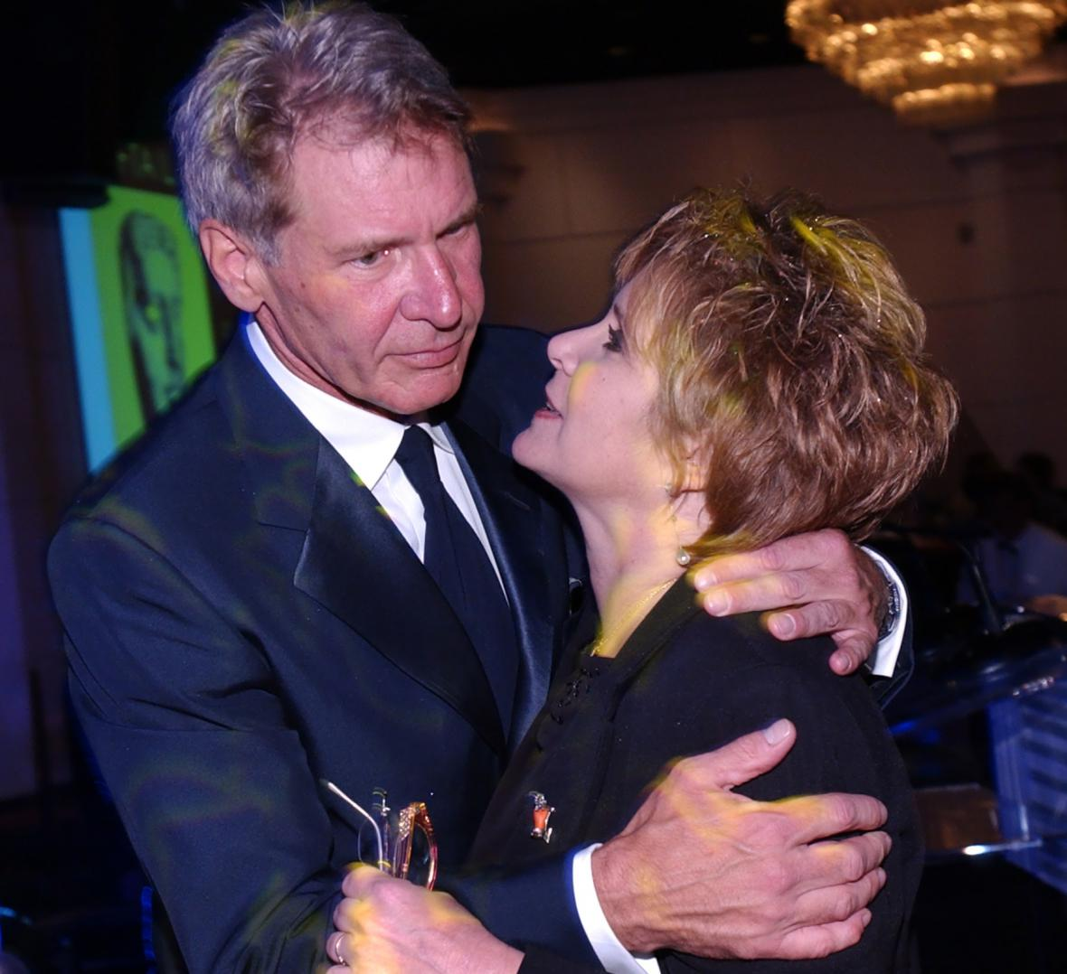 S Harrisonem Fordem v roce 2002