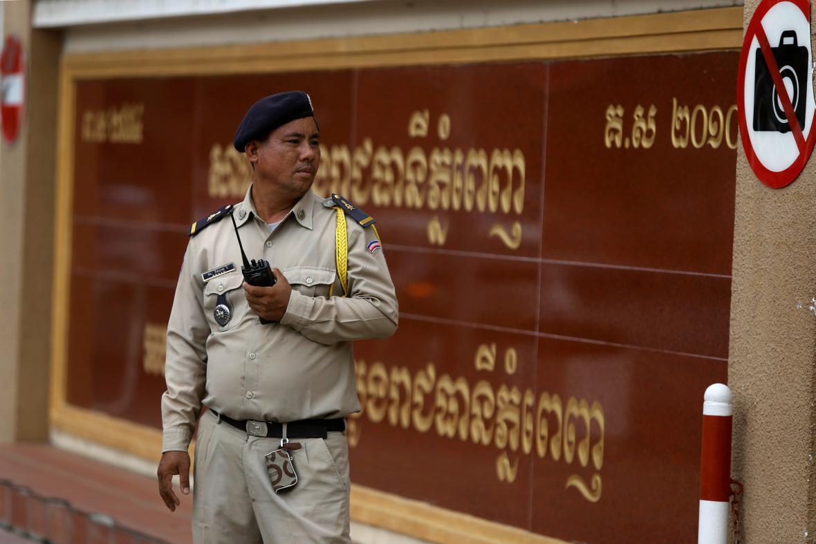 Kambodžská policie