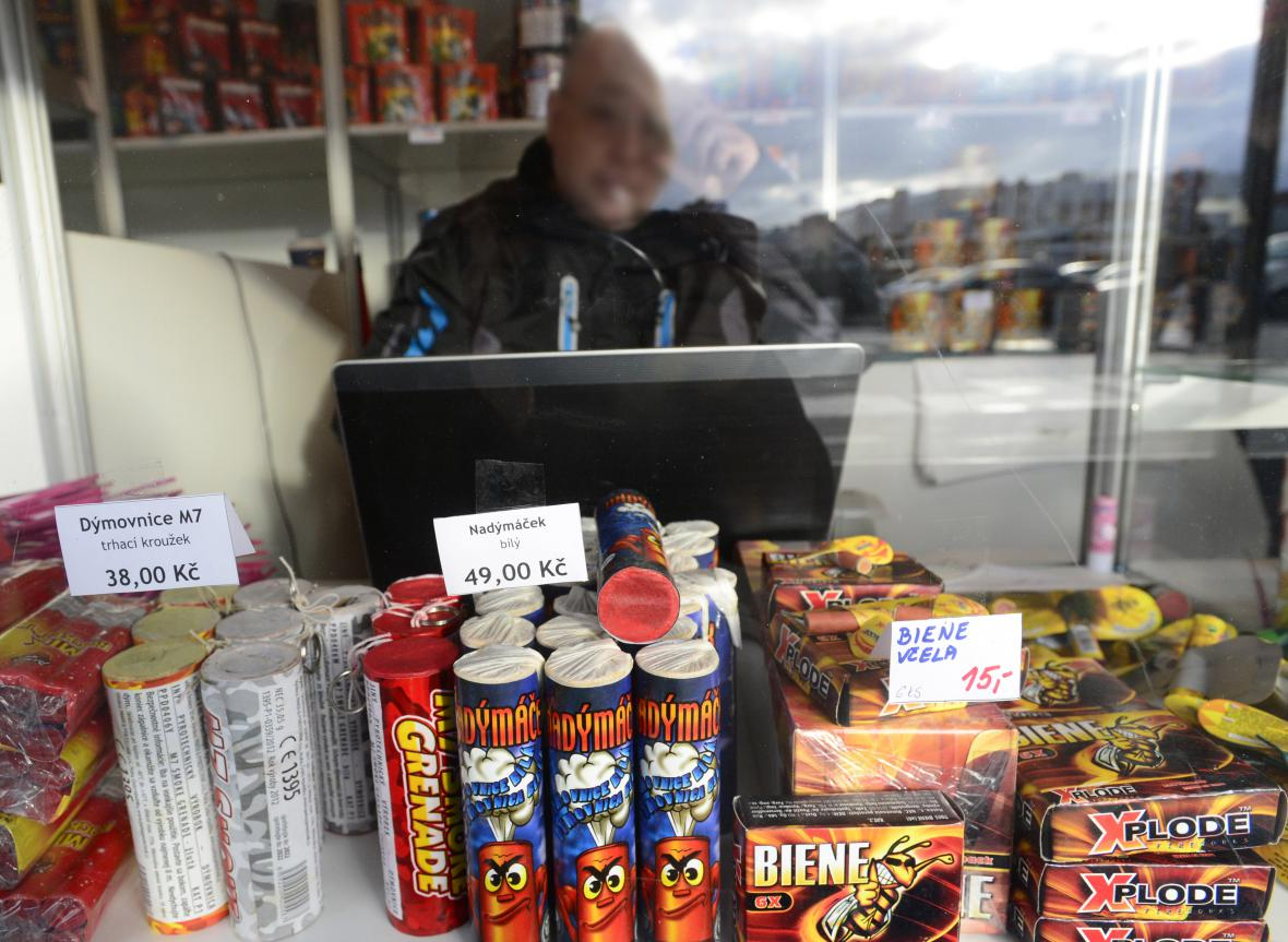Ve stáncích je možné prodávat jen pyrotechniku I. třídy