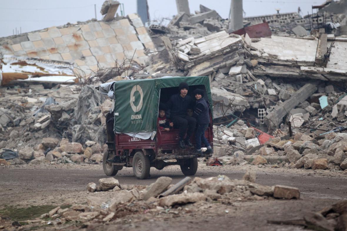 Syrské Aleppo