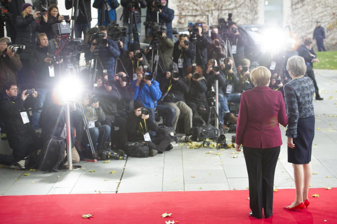 Angela Merkelová a Theresa Mayová