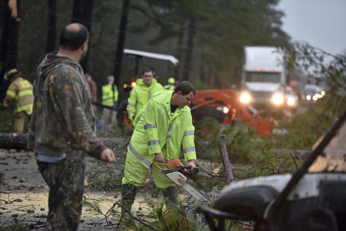Extrémní počasí udeřilo v Mississippi, Louisianě či Alabamě