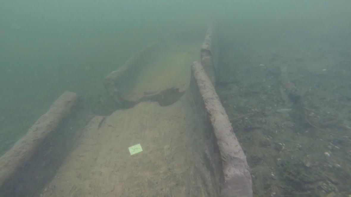 Objevená loď pamatuje dobu prvních polských knížat