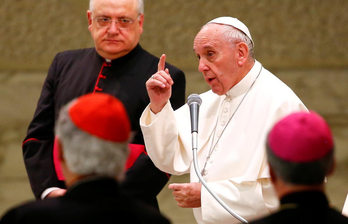 Papežova audience pro oběti italského zemětřesení