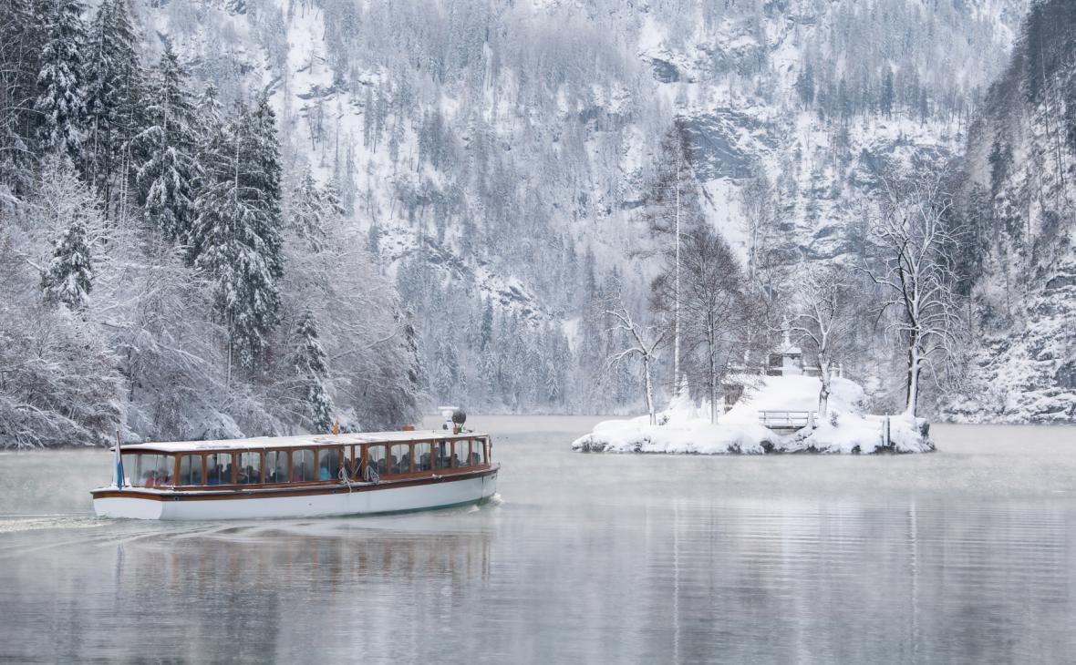 Lednové počasí v Evropě