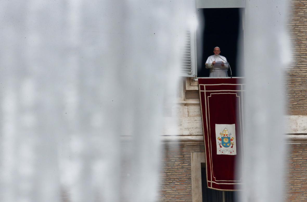 Mráz v Římě