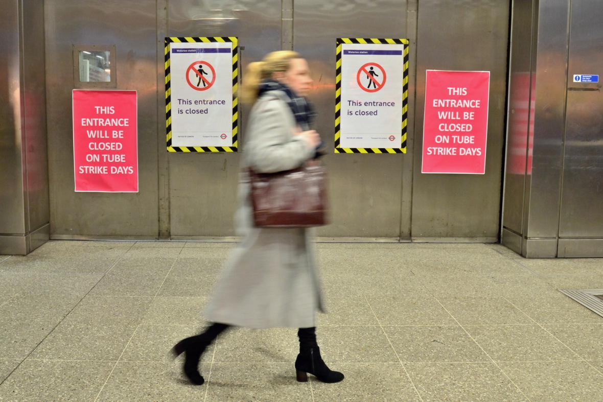 Stávka v londýnském metru