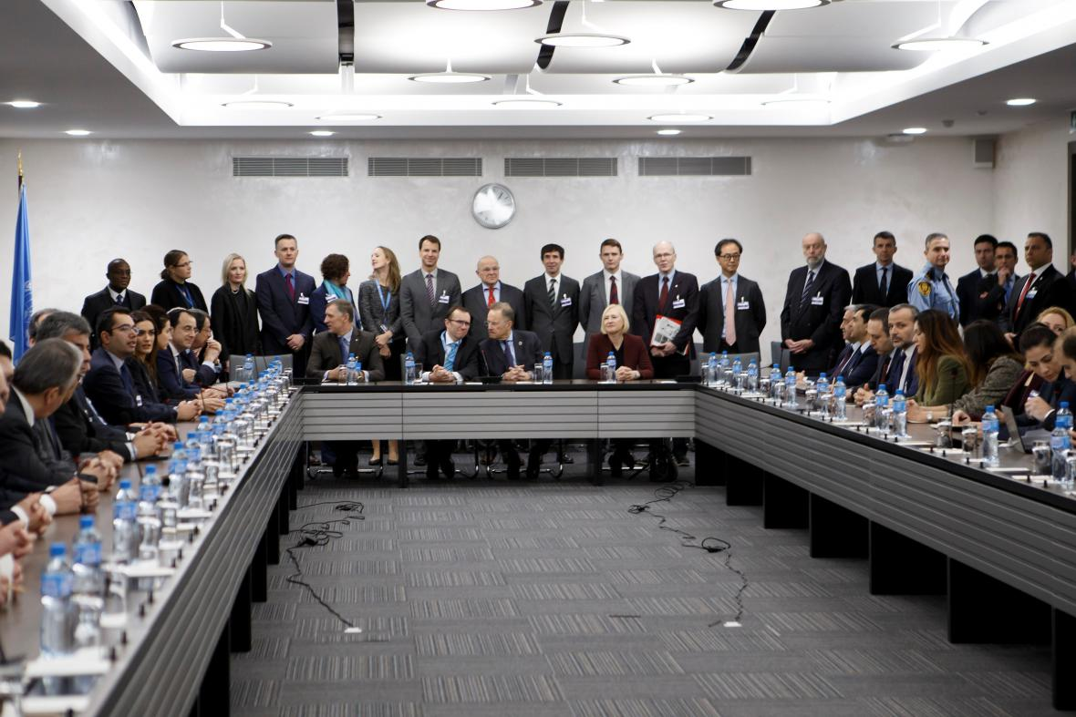 Řecká a turecká část Kypru jedná pod dohledem OSN