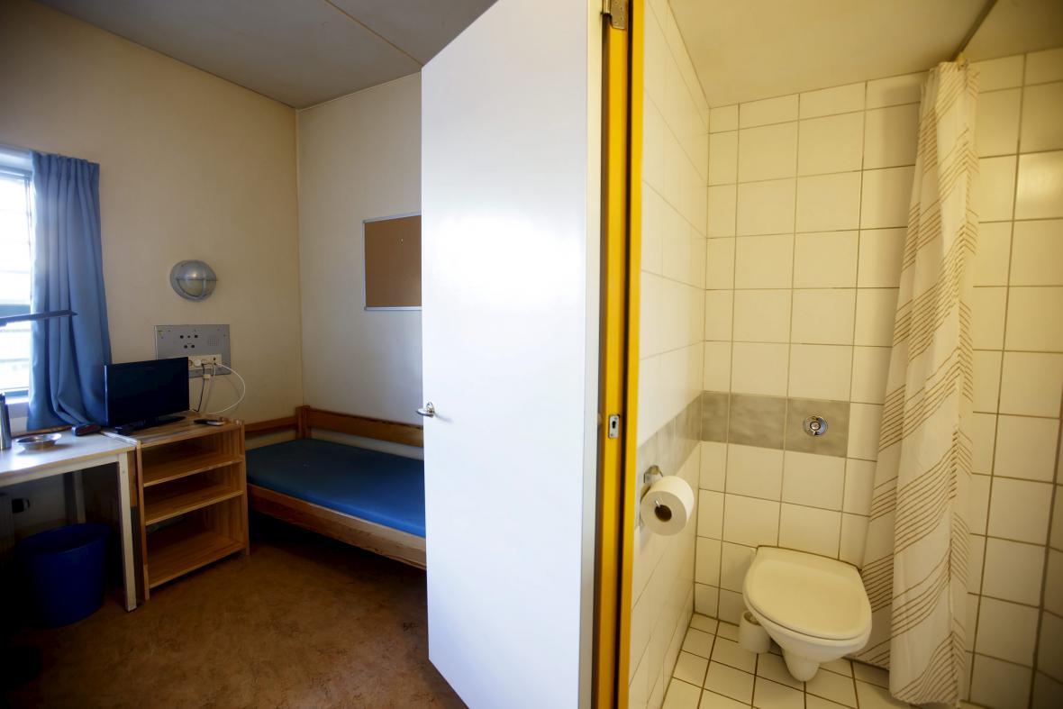 Věznice Skien, kde se Breivik odpykává svůj trest