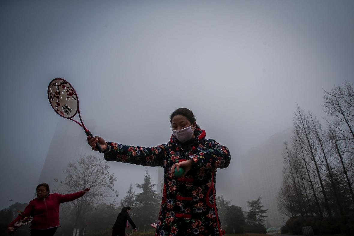 Smog znovu zavldál nad čínskými městy s přelomem roku