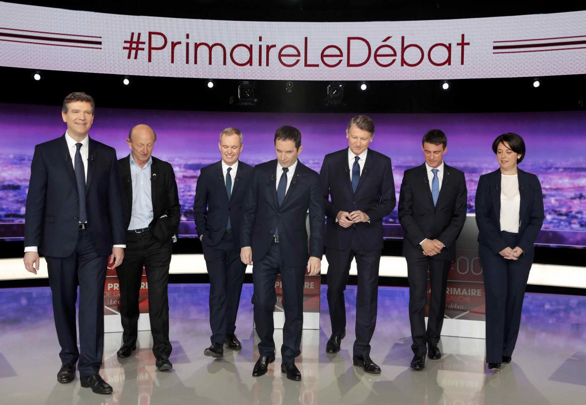 Uchazeči o prezidentskou kandidaturu