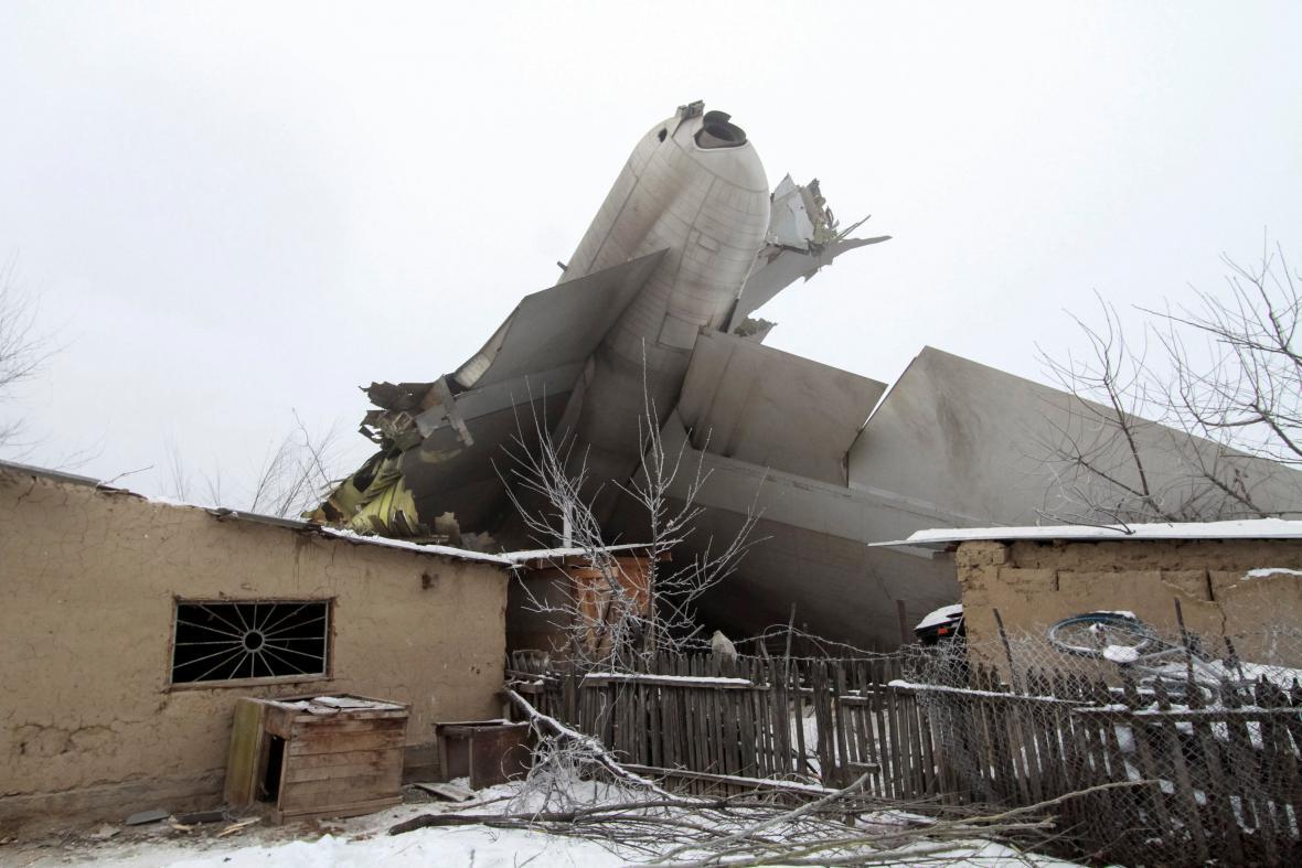 Havárie boeingu v Kyrgyzstánu