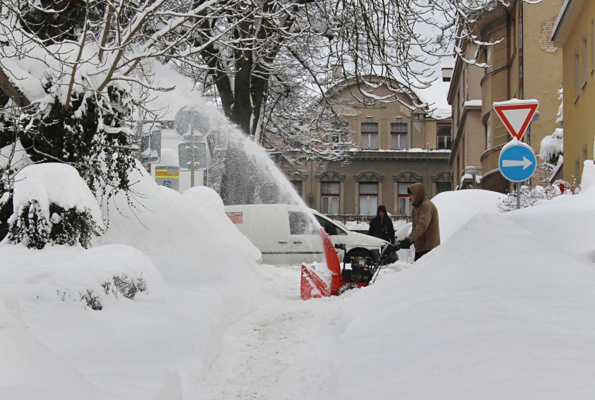 Zamrzlé Česko