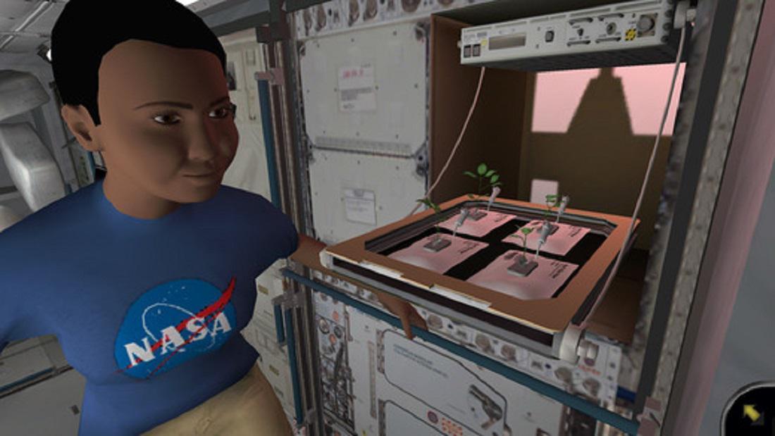 Ukázky ze hry NASA Science Investigations: Plant Growt