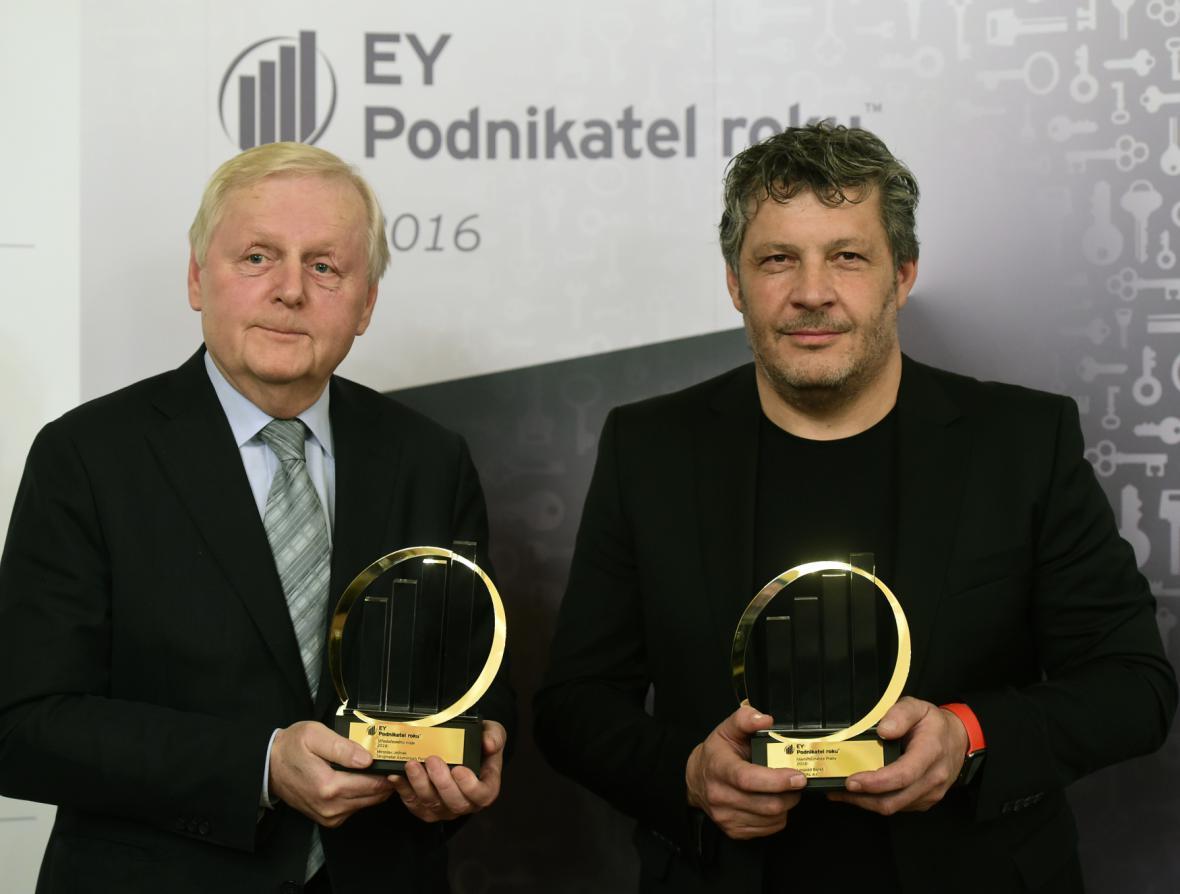 Miroslav Jelínek (vlevo) a Leopold Bareš