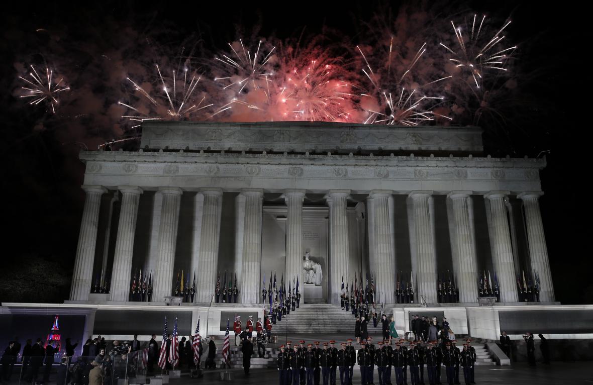 Koncert v předvečer Trumpovy inaugurace