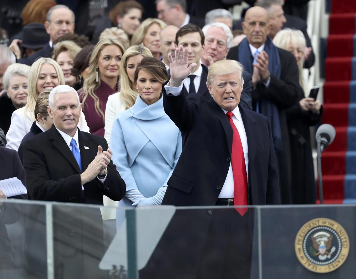Inaugurace Donalda Trumpa