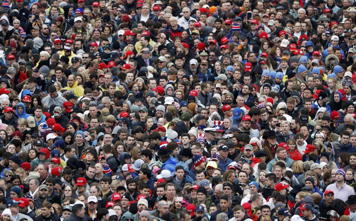 Inaugurace Donalda Trumpa - ceremoniál