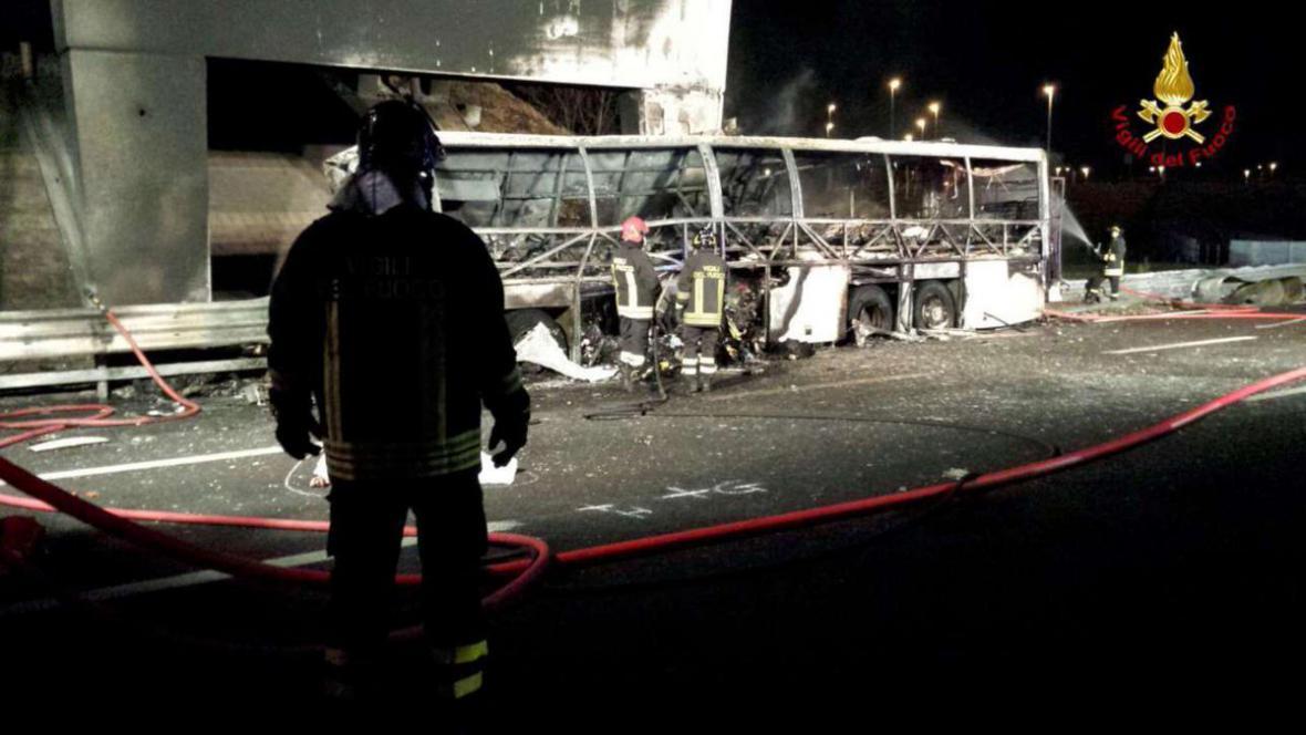 Nehoda autobusu u Verony
