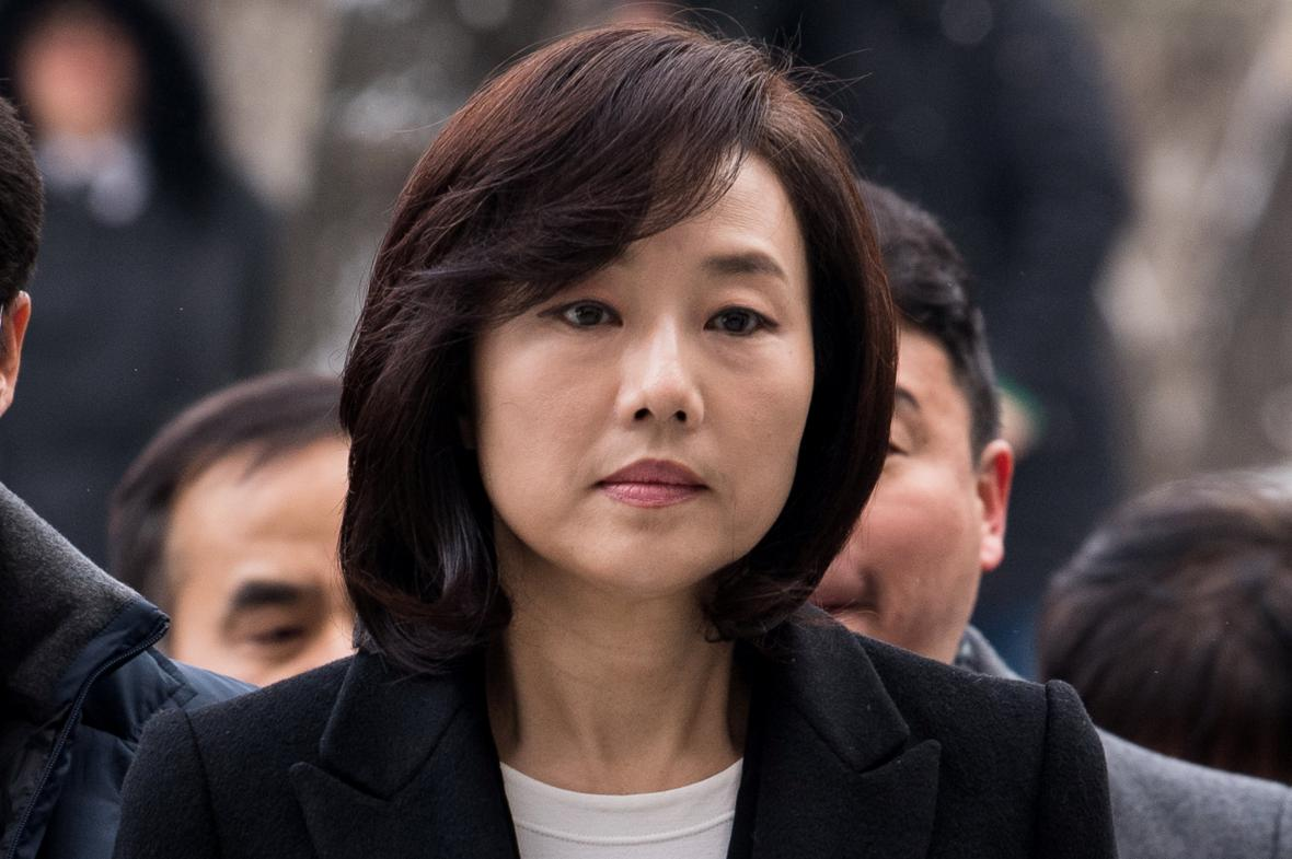 Bývalá jihokorejská ministryně kultury Čche Jun-sun