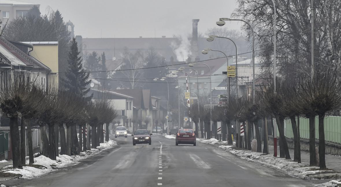 Smogová situace a doprava v Praze