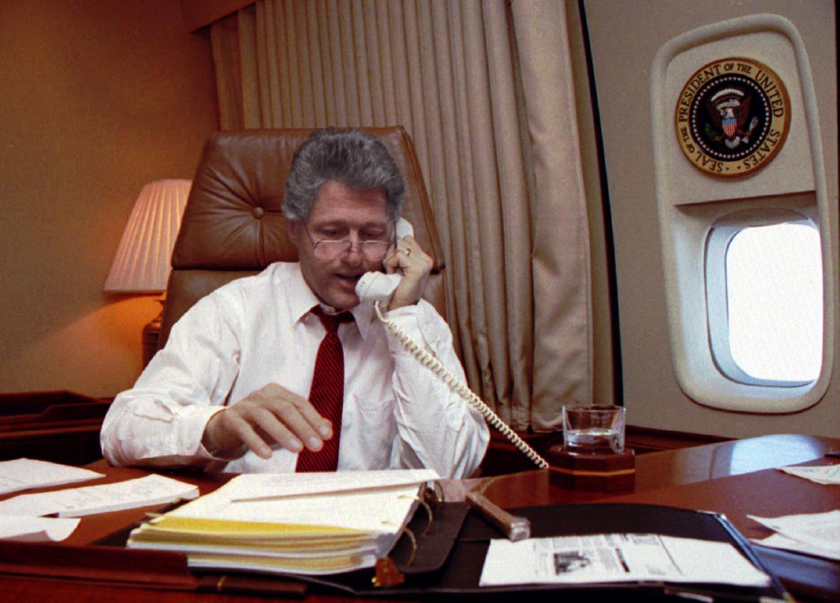 První dny Billa Clintona v Bílém domě