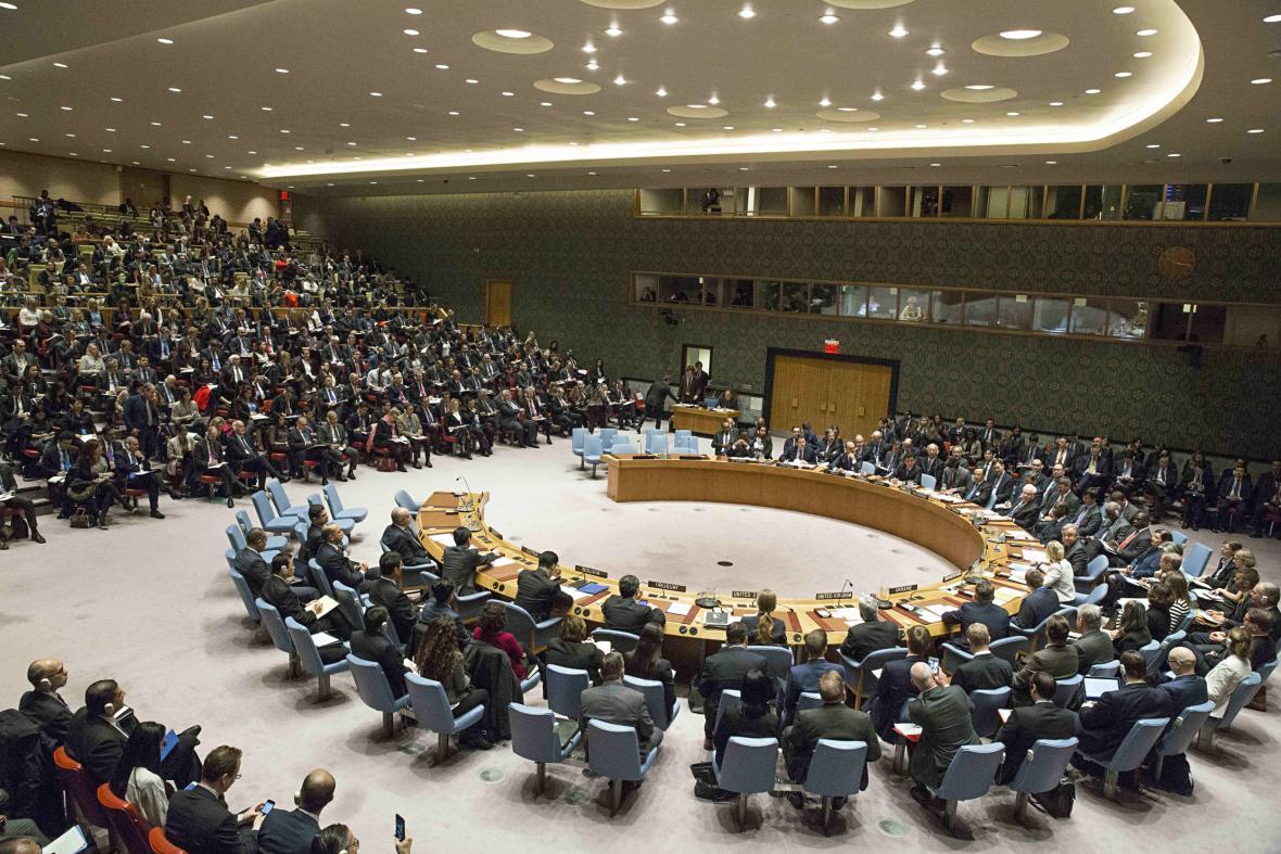Ústředí OSN v New Yorku