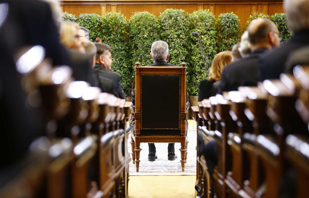 Inaugurace rakouského prezidenta