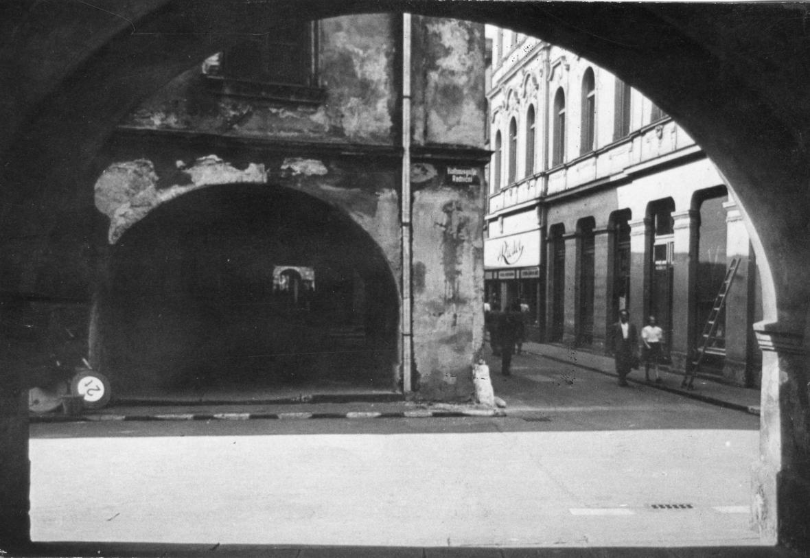 Lauby na dobových fotografiích