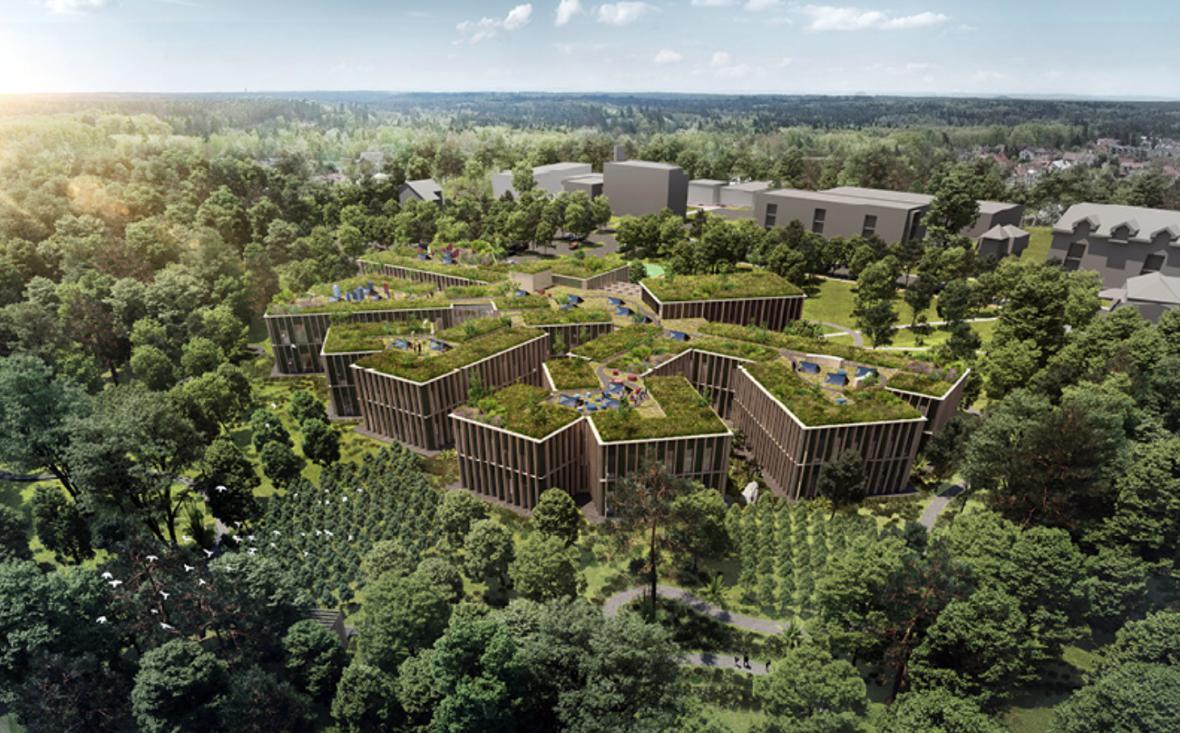 Architektonická soutěž na sídlo společnosti Lesy ČR v Hradci Králové