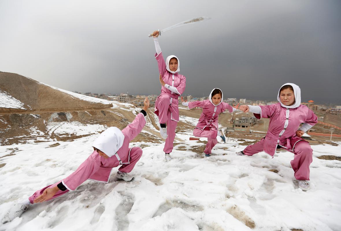 Pobřeží v subtropickém Soči, kde sníh a teploty pod nulou jsou velkou výjimkou.