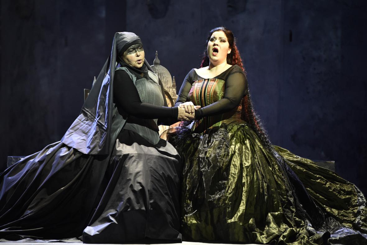 La Gioconda je příběhem lásky na motivy divadelní hry Victora Huga