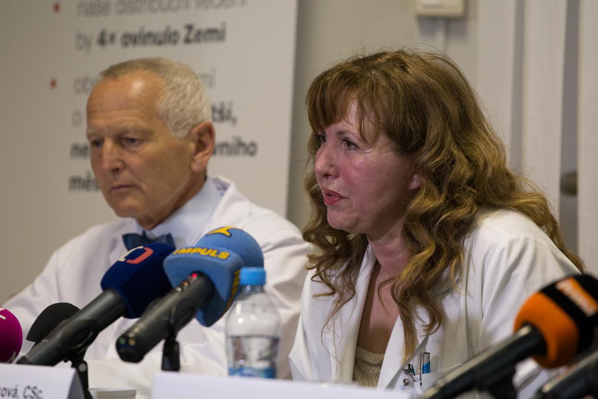 Tisková konference o kardiovaskulárních problémech