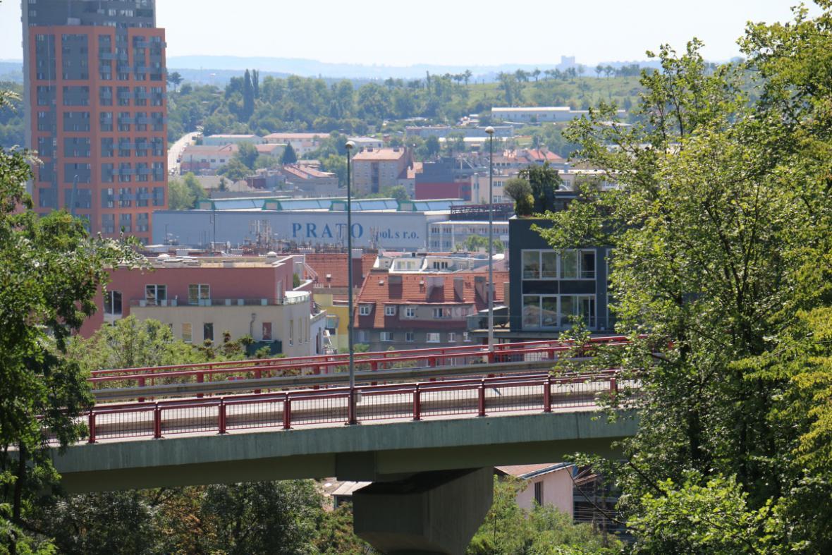 Vysočanská estakáda