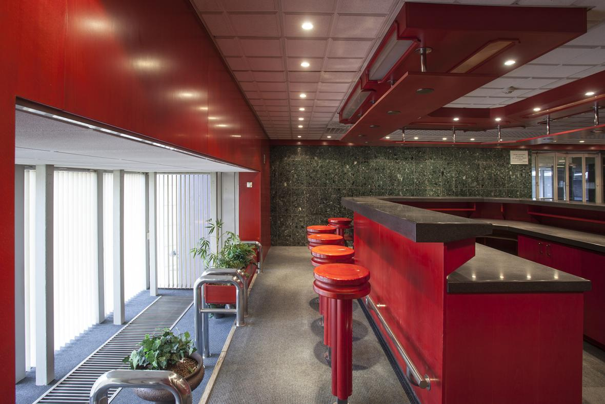 Interiér budov Transgas