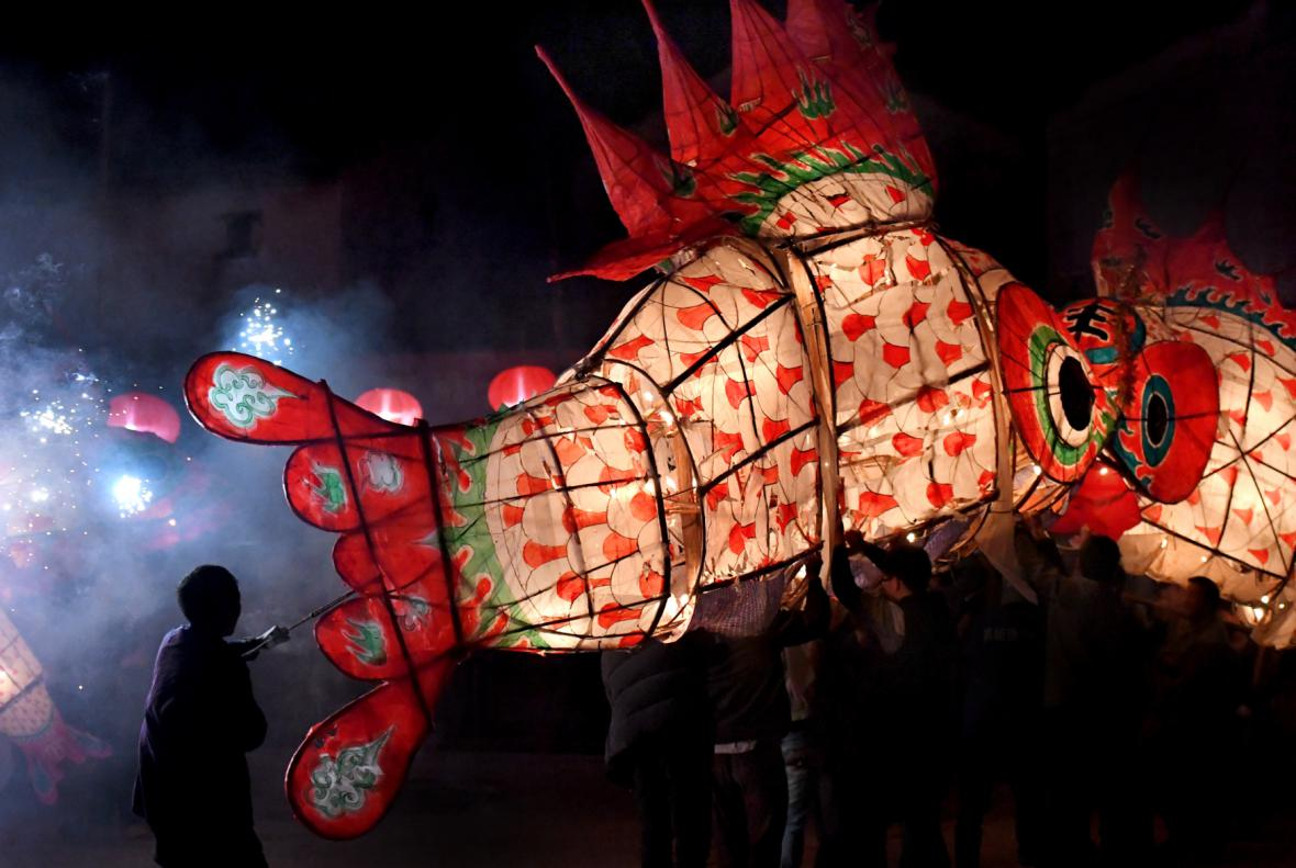 Svátek luceren jako vrchol čínského vítání nového roku