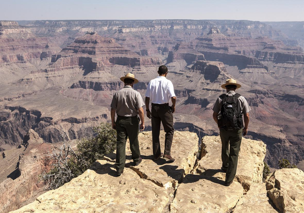 Z výstavy 100 let národních parků USA