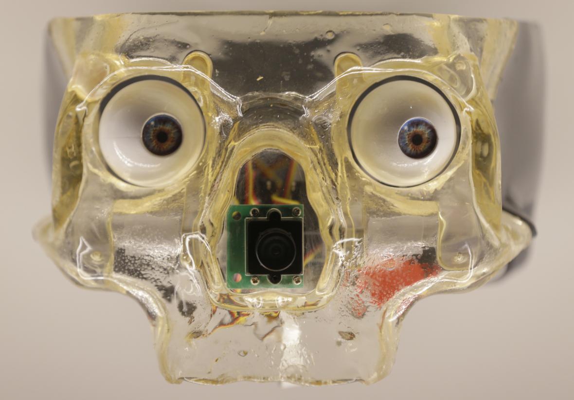 Výstava robotů v londýnskm Muzeu vědy