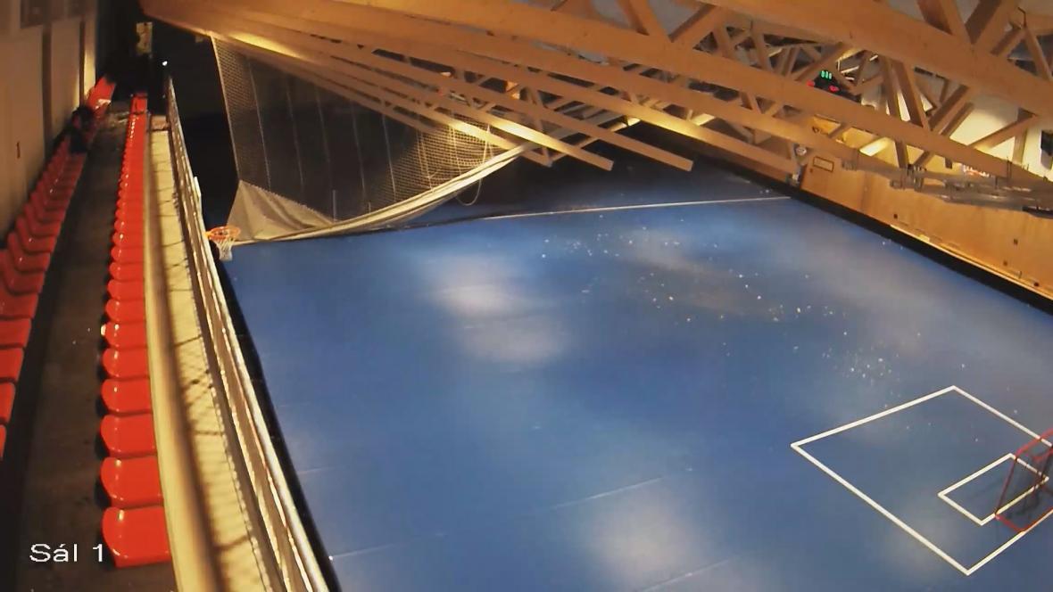 Pás střechy