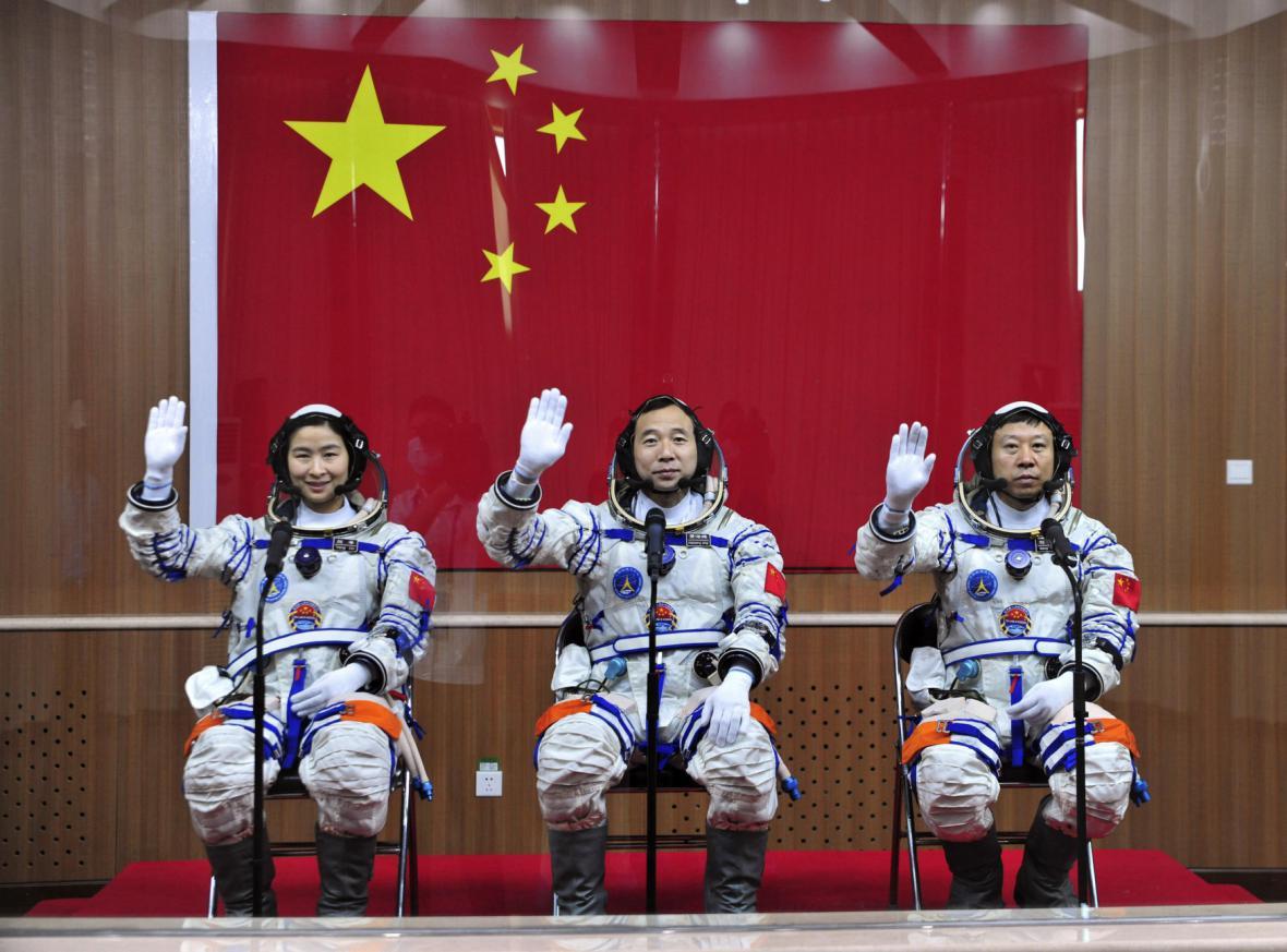 Čínští astronauti
