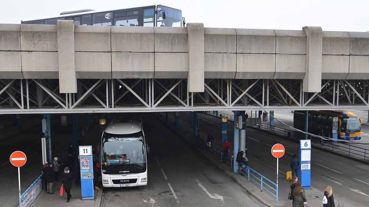 Ústřední autobusové nádraží v Brně