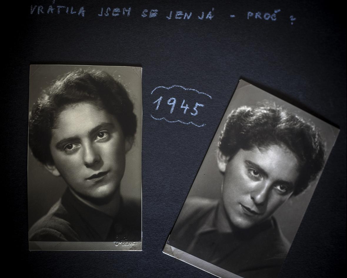 Hana Trávová - pamětnice na Terezín