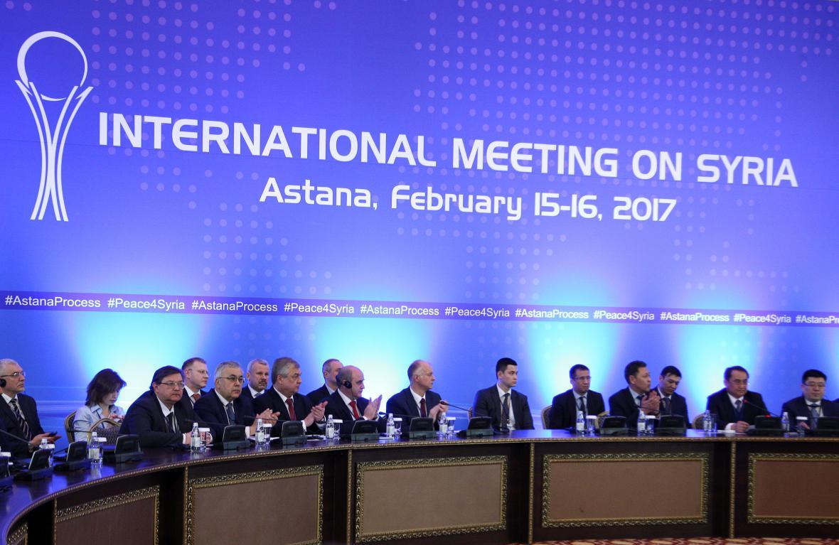 Jednání o Sýrii v Astaně