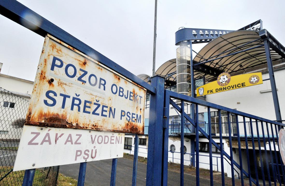 Stadion v Drnovicích má slavné dny za sebou