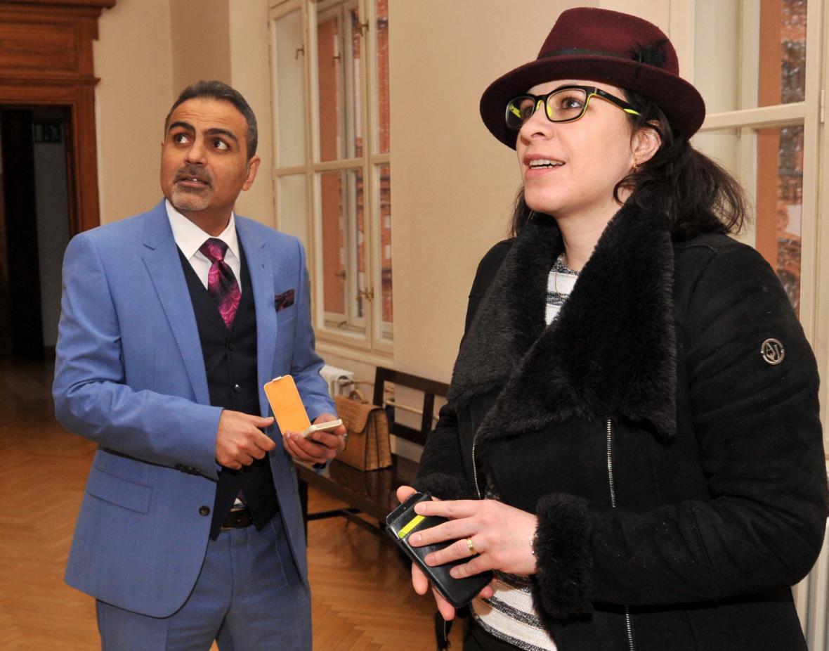 Shahram Abdullah Zadeh s právničkou Alenou Kojzarovou