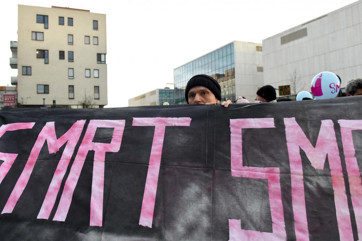 Protesty proti smogu