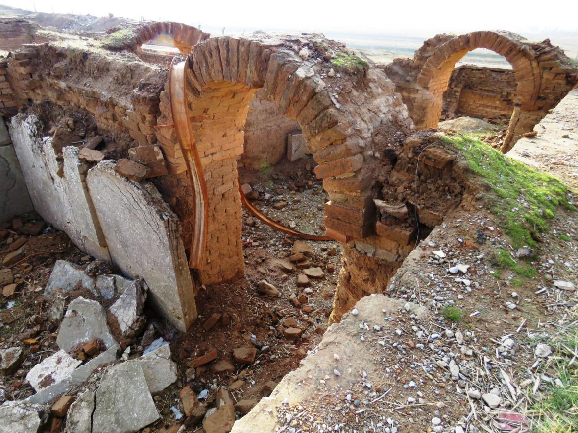 Památky v Nimrudu poškození Islámským státem