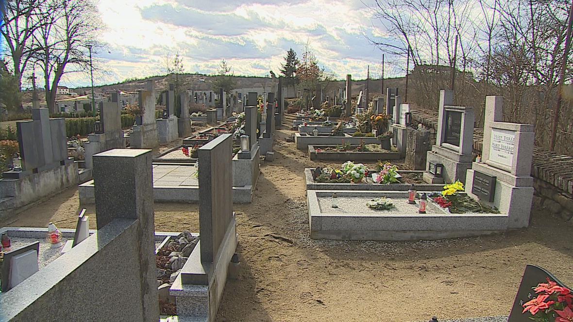 Hřbitov v Oslavanech