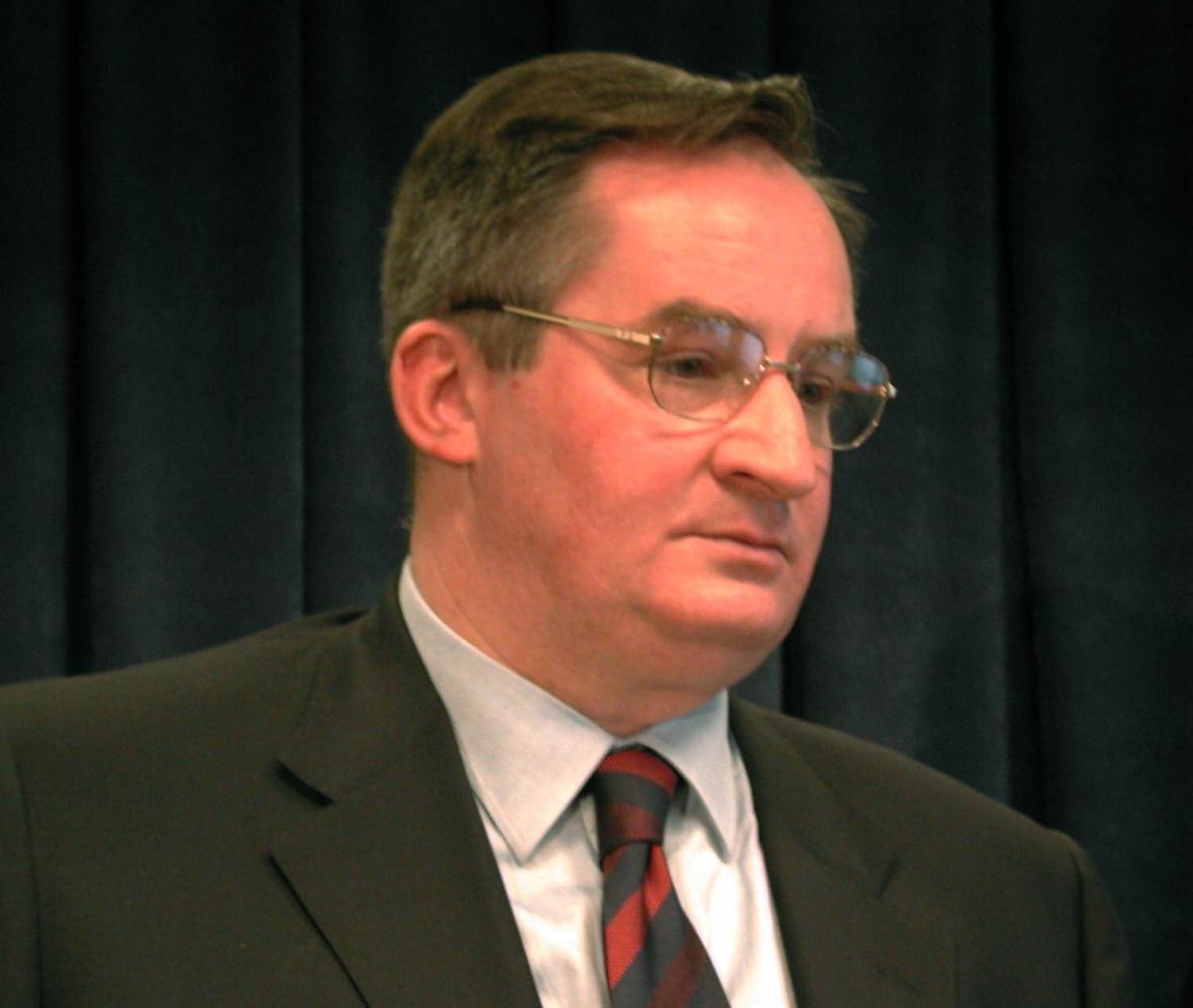 Jacek Saryusz-Wolski na snímku z roku 2000